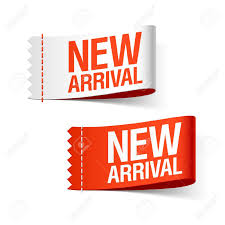 new arrival ribbons royalty free cliparts vectors and stock
