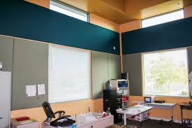 fabricmate wall finishing solutions homes classroom with fabric wrapped tackable acoustical wall panels