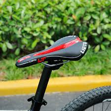 si e selle ergonomique lietu nouveau vélo selle ergonomique vtt vélo de route siège perforé