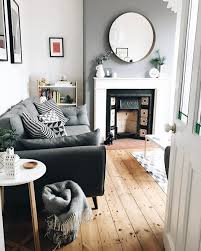 Victorian Livingroom by Slate Grey Wall By Dulux Mirror From Ikea Sofa From Dfs See