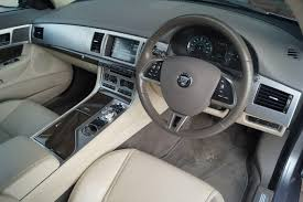 jaguar cars interior used 2014 jaguar xf d premium luxury full ivory interior finished