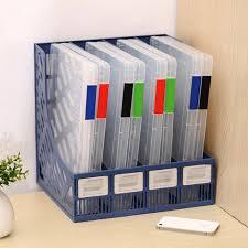 boite de rangement papier bureau a4 transparent boîte de rangement en plastique transparent document