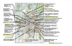 Idaho On Map Bizmojo Idaho Idaho Falls Compiles Development Map For 2013
