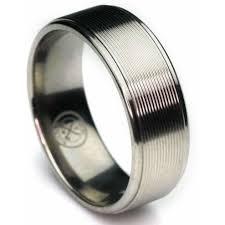 titanium band the architect titanium w laser etched design wedding band