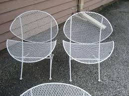 metal mesh patio furniture awesome mesh patio table mesh patio