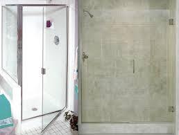 Framed Vs Frameless Shower Door Brilliant Semi Framed Shower Doors With Atlanta Semi Frameless