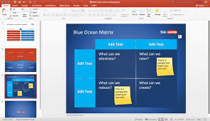 powerpoint templates free download ocean blue ocean strategy ppt templates free blue ocean strategy