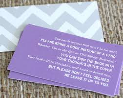 baby shower instead of a card bring a book book instead of card poem party ideas poem