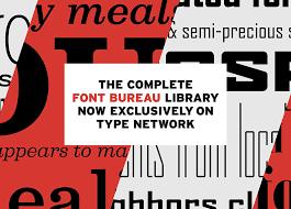 font bureau fonts font bureau typeyeah