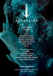 ra tickets tale of us present afterlife at printworks london