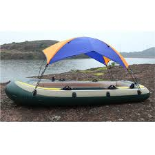 Awning Boat Aliexpress Com Buy 2 Person Inflatable Boat Sun Shelter Awning