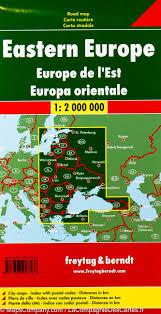 Maps Of Eastern Europe by Map Of Eastern Europe Freytag U0026 Berndt U2013 Mapscompany