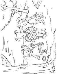 pigs coloring tim u0027s printables