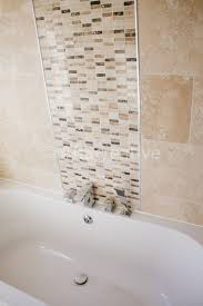 mosaic tile feature wall bathroom mesmerizing interior design ideas