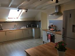 Lodge Kitchen by Hen Party Accommodation Box Hedge Farm Hen Party Activities