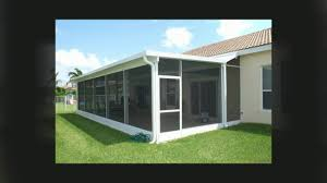 i want to add a sunroom to my home in west palm beach screen
