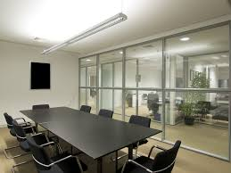 8ft Led Linear Suspension Light Led Office Conference Room