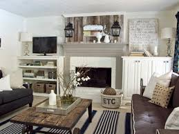 cottage living room style