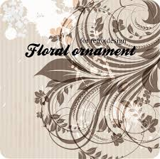Foliage Flower - swirl print foliage flower multicolor vector premium download