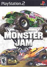 monster trucks jam games monster jam 2007 playstation 2 box cover art mobygames