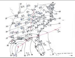Greensboro Nc Zip Code Map by Superstorm Of 1993