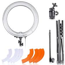 neewer led ring light top 5 best ring lights and flashes for photography heavy com