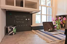 Painted Backsplash Kitchen Transitional With Glass Panel Doors - Magnetic backsplash