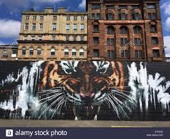 glasgow mural stock photos glasgow mural stock images alamy mural in glasgow stock image