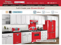 love at first sight with the new elmira stove works kitchen