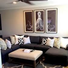 Neutral Sofa Decorating Ideas by Wonderful Black Leather Sofa Decorating Ideas For Living Room