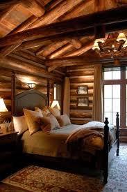 Log Cabin Bedroom Ideas Modern Rustic Log Cabin This Cabin Bedroom Homesteading