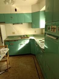electric blue kitchen cabinets vintage metal kitchen cabinets 1950s general electric blue