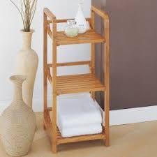 Bathroom Ladder Linen Tower Bathroom Linen Shelves Foter