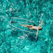 crystal kayak 2 seats 2 paddles unassembled the crystal