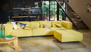 Esszimmerst Le Yellow Vitra Vitra Soft Modular Sofa Workbrands