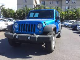 jeep wrangler hawaii blue jeep wrangler in hawaii for sale used cars on buysellsearch