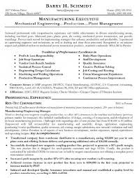 Project Manager Example Resume by Enchanting Manufacturing Resume 16 13 Sample Resume For Project