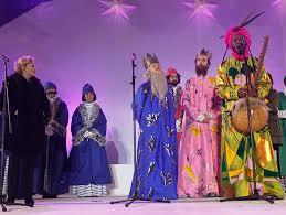 fotos reyes magos cabalgata madrid y si las túnicas de los reyes magos de carmena fueran el futuro