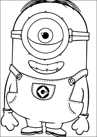 86 disney u0027s minions coloring sheets images