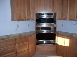 Kitchen Oven Cabinets by Corner Wall Oven Cabinet Inspirations U2013 Home Furniture Ideas
