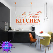 33 kitchen decals for walls orange personalised kitchen wall orange personalised kitchen wall decal on a kitchen wall
