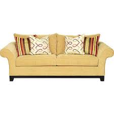 Rooms To Go Sofas And Loveseats by Cindy Crawford Home Dawson Gold Sofa Rooms To Go Sofas Polyvore