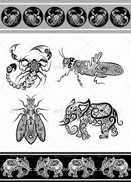 animal ornaments series 2 by comicvector703 graphicriver