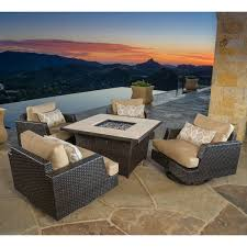 Agio International Patio Furniture Costco - fire pits u0026 chat sets costco