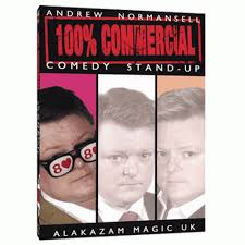 100 percent commercial volume 1 comedy stand up by andrew