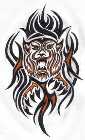 tribal tiger tattoos sle tattoomagz