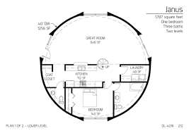 one home floor plans floor plans 1 bedroom monolithic dome institute
