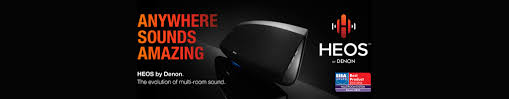 heos by denon wireless multi room speaker audio system
