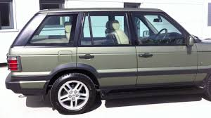land rover green 2000 range rover 4 6 vogue kent green exclusive leather youtube
