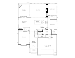 Multi Generational Floor Plans by Rochester Floor Plan At The Estates At Weldon Ridge In Cary Nc
